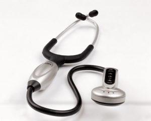 گوشی پزشکی الکترونیکی
