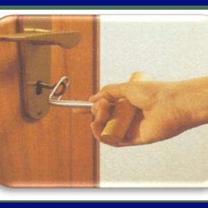 اهرم کمکی برای چرخاندن کلید