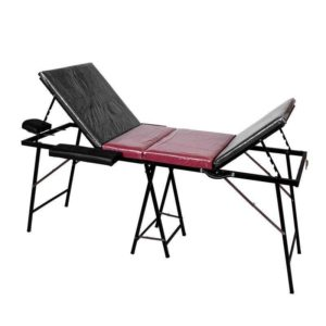 1097 Portable Iron Bed Massage Bed