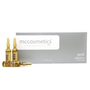 آمپول ویتامین سی mc cosmetics vitamin c
