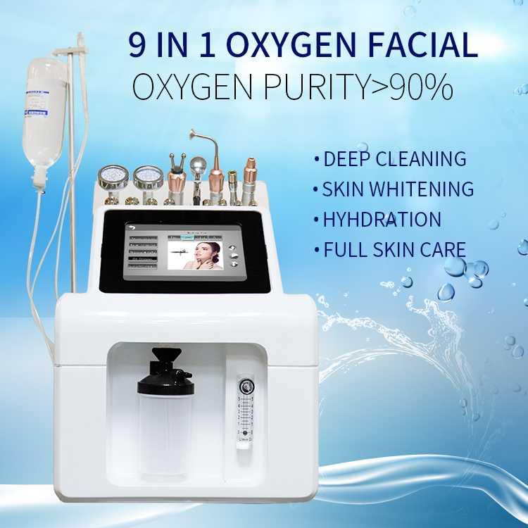 9in1 oxygen facial
