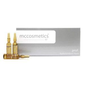 آمپول جذب مایعات به پوست mccosmetics hyaluronidase