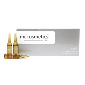 آمپول سیلیکونی آلی احیا کننده پوست mccosmetics organic silicon