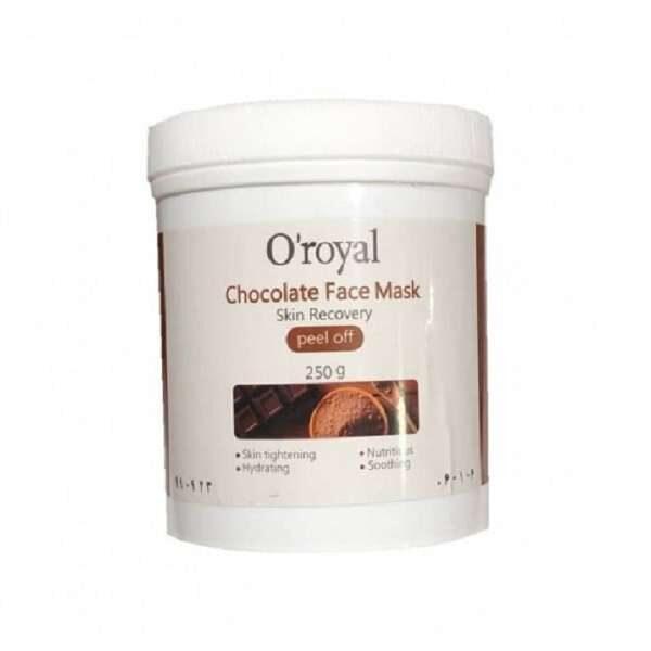 chocolate face mask oroyal